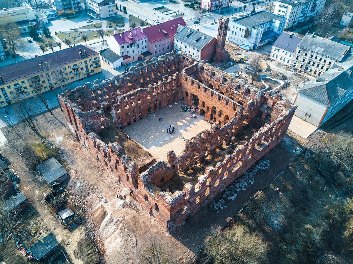 Il castello di Ragnit