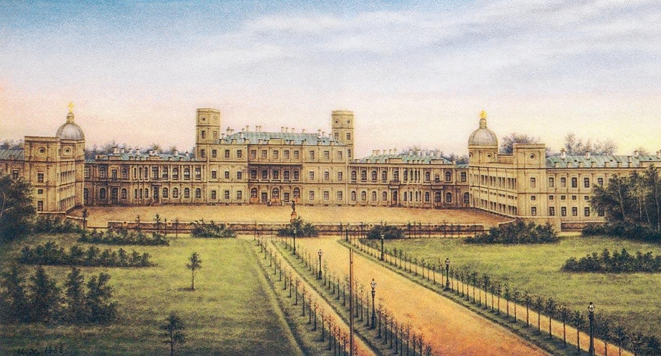The Gatchina palace