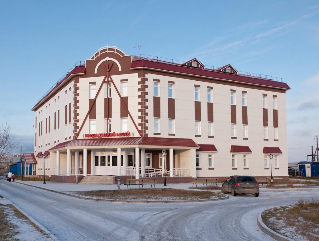Stavba Neneckega krajevnega muzeja. 2011