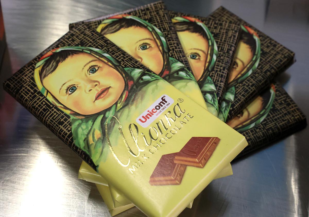 "Tavolette di cioccolato ""Aljónka"""