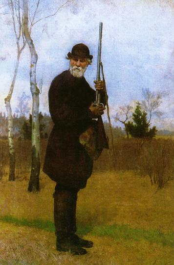 Portrait de l'écrivain par Nikolaï Dmitriev-Orenbourgski