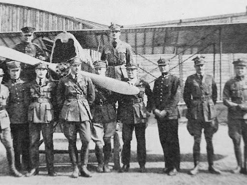 Piloten des 7. Jagdgeschwaders in Lemberg