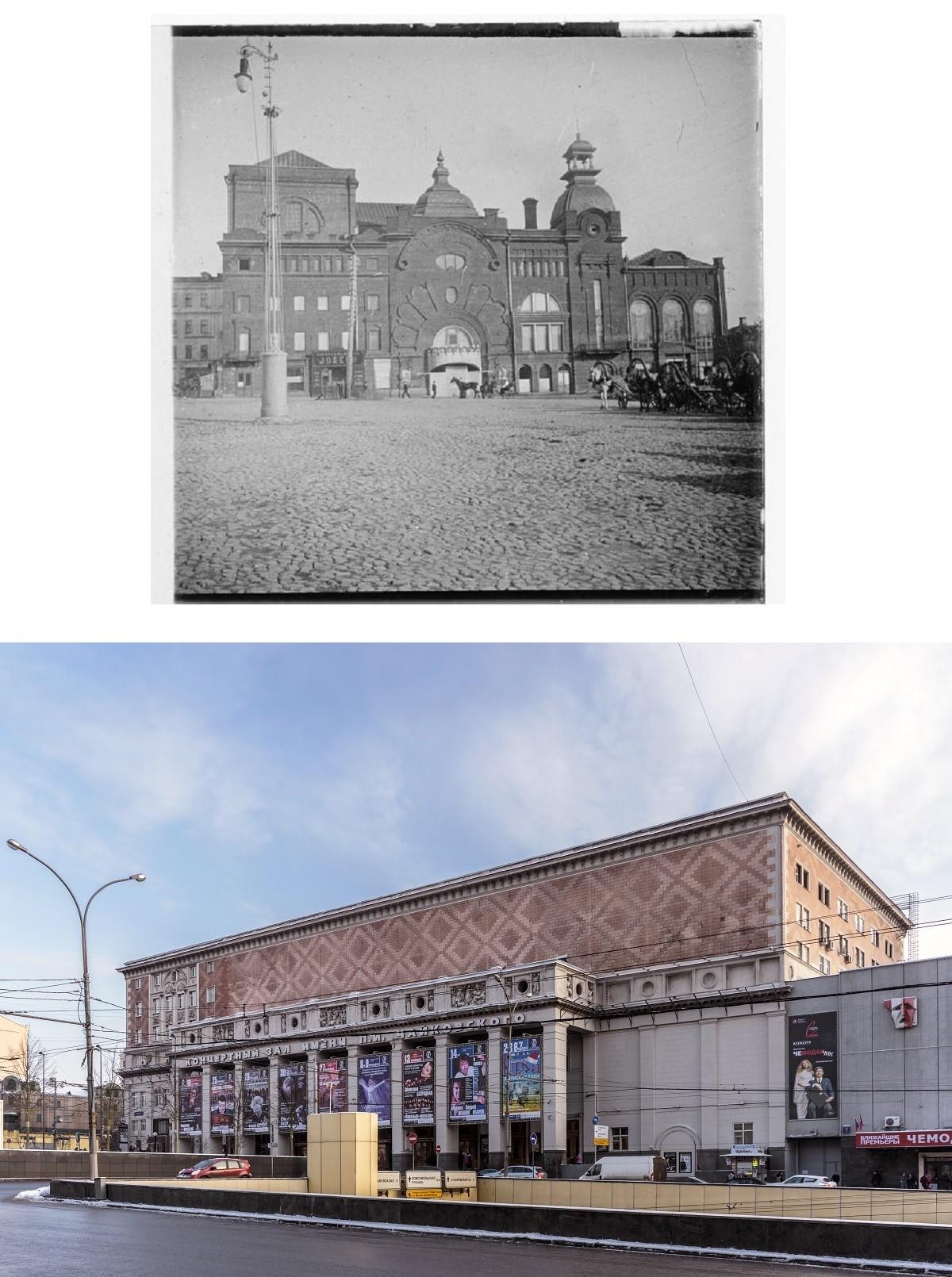Le grand théâtre de Charles Aumont et la salle de concert Tchaïkovski