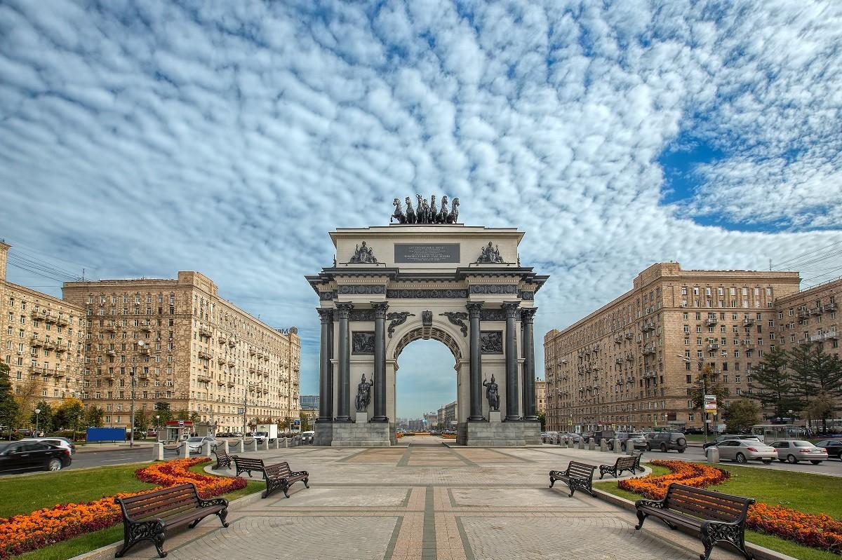Arc de triomphe de Moscou