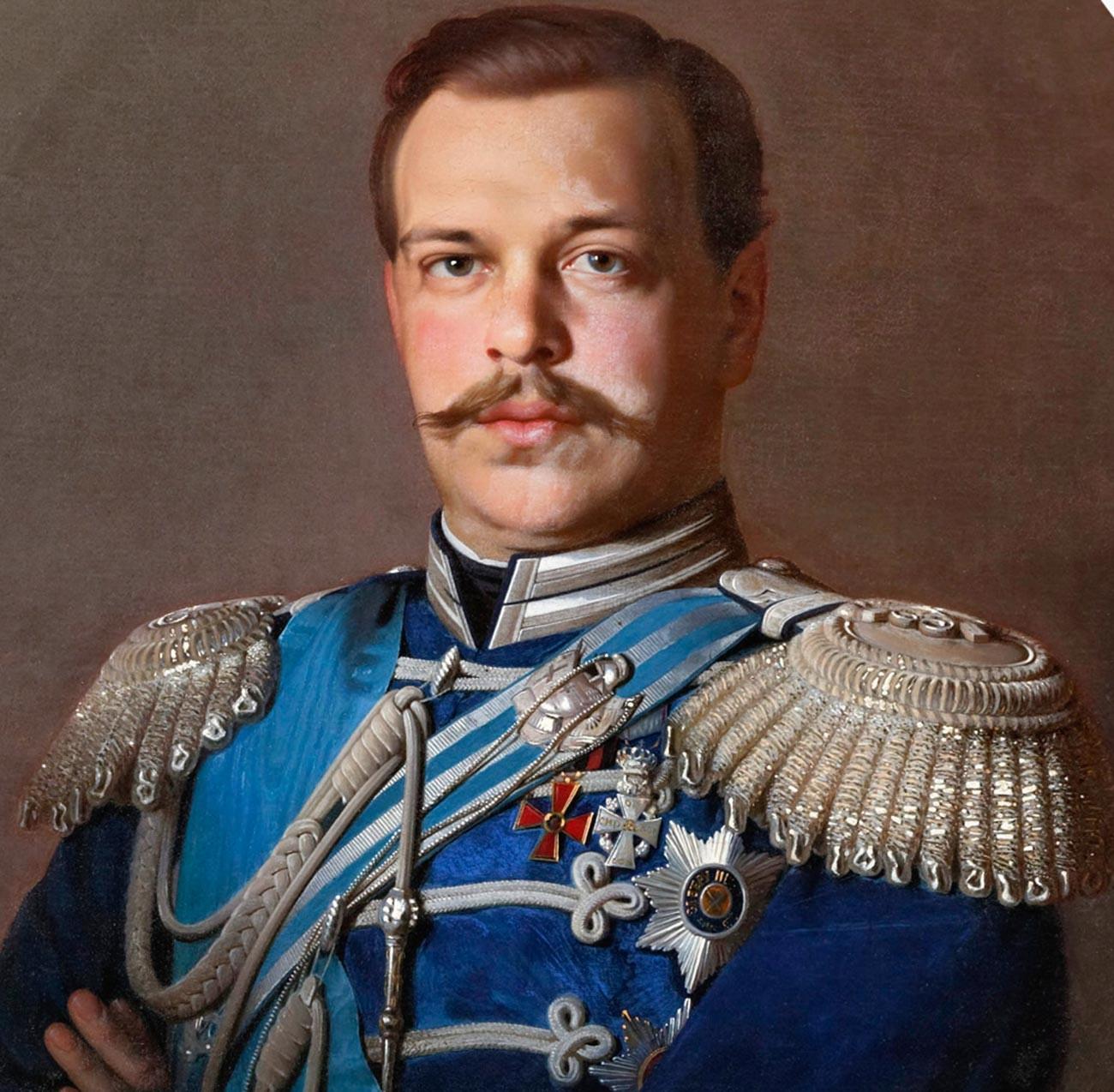 Портрет на Александър III