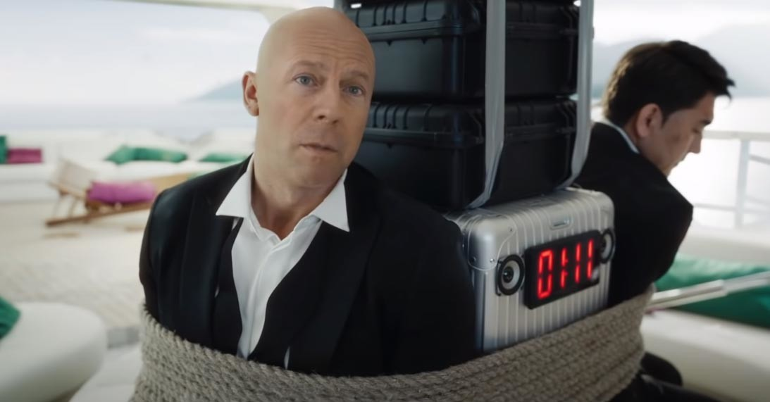 The company employed face generating technology to generate facial features of Bruce Willis.