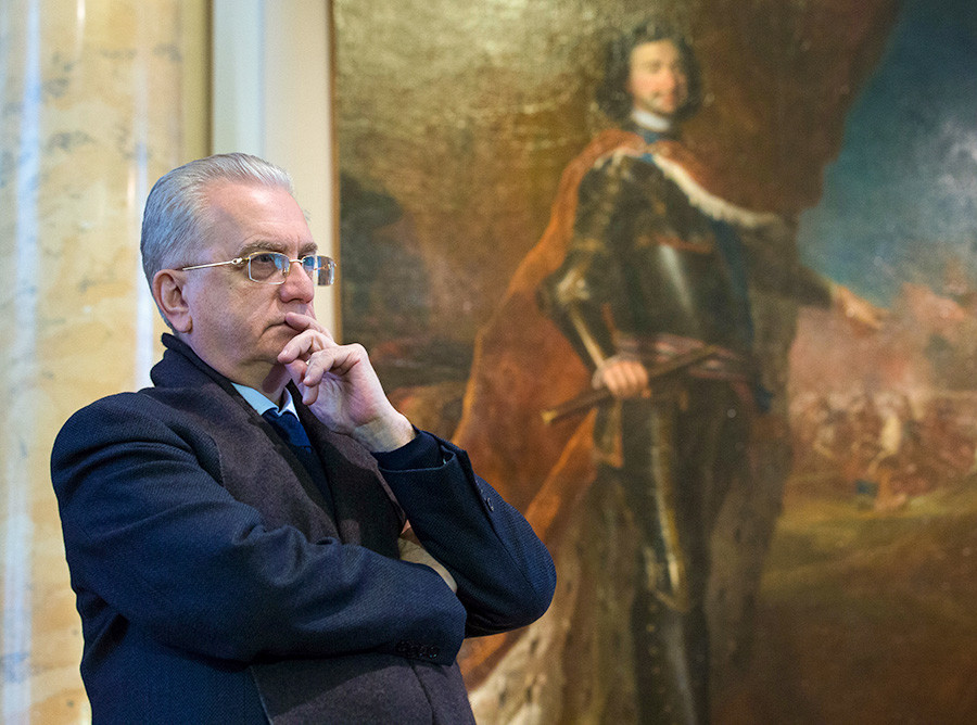 Mikhail Piotrovsky, the General Director of the State Hermitage