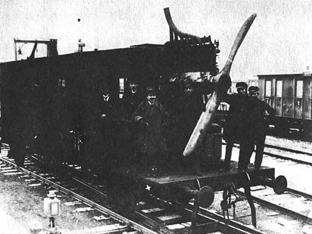 La locomotiva ad elica Dringos