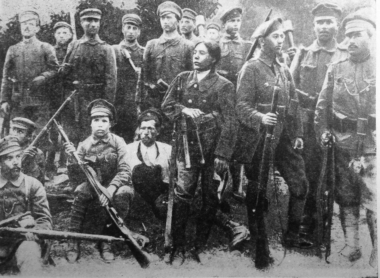 1-ви батальон на 1-ви московски интернационален отряд
