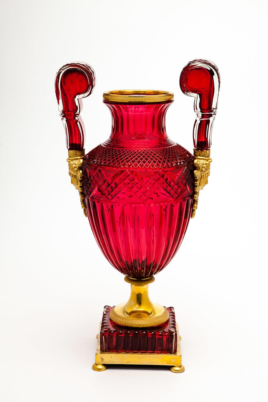 Vase. Saint-Pétersbourg. Années 1830