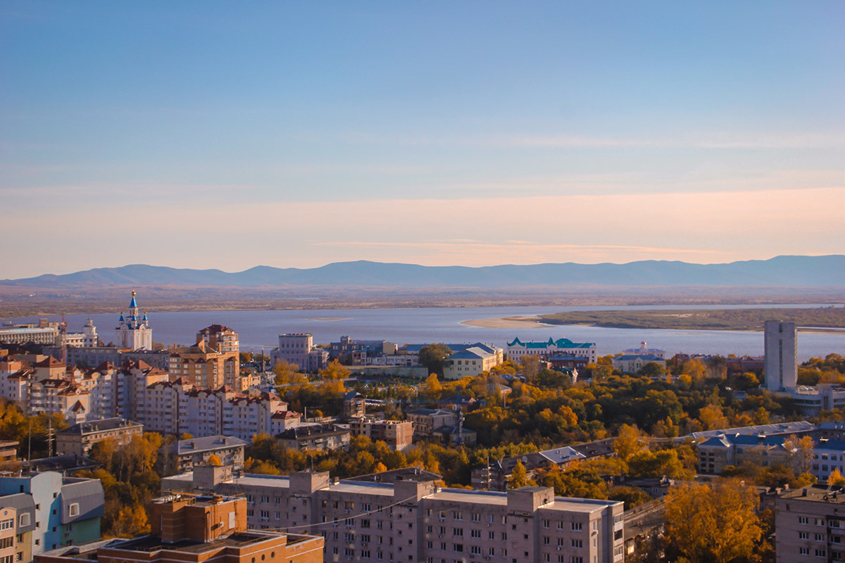 View of Khabarovsk