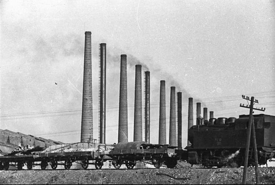 Заводские трубы