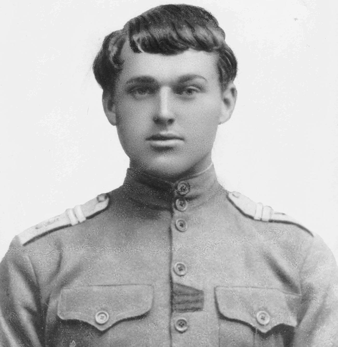 Константин Рокоссовский в 1917 году.