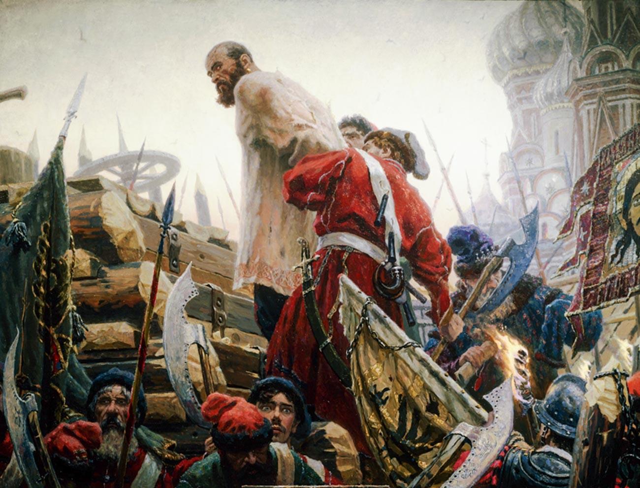 """Stepan Rasin"" von Sergej Kirillow."