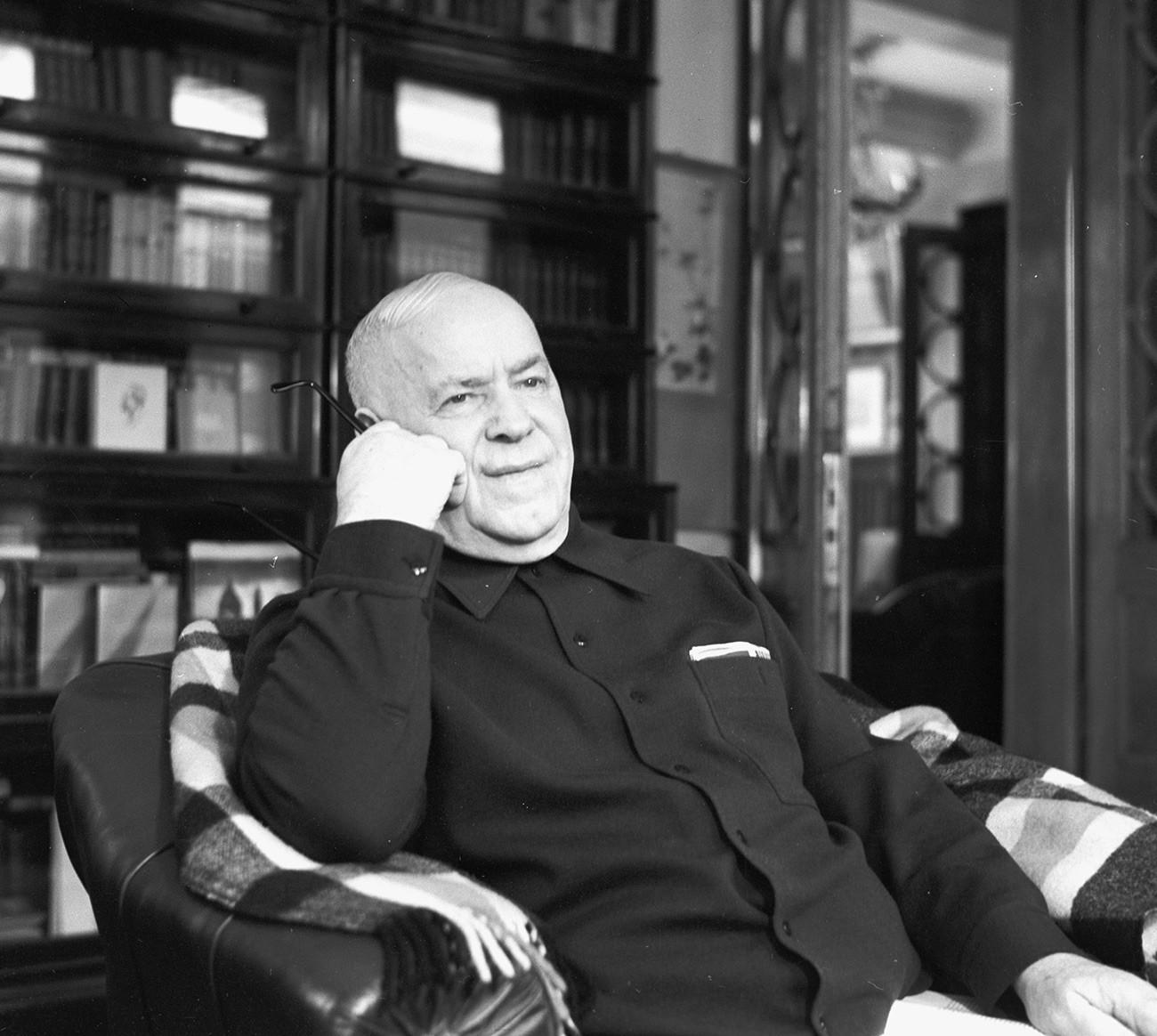 Zhukov di rumahnya.
