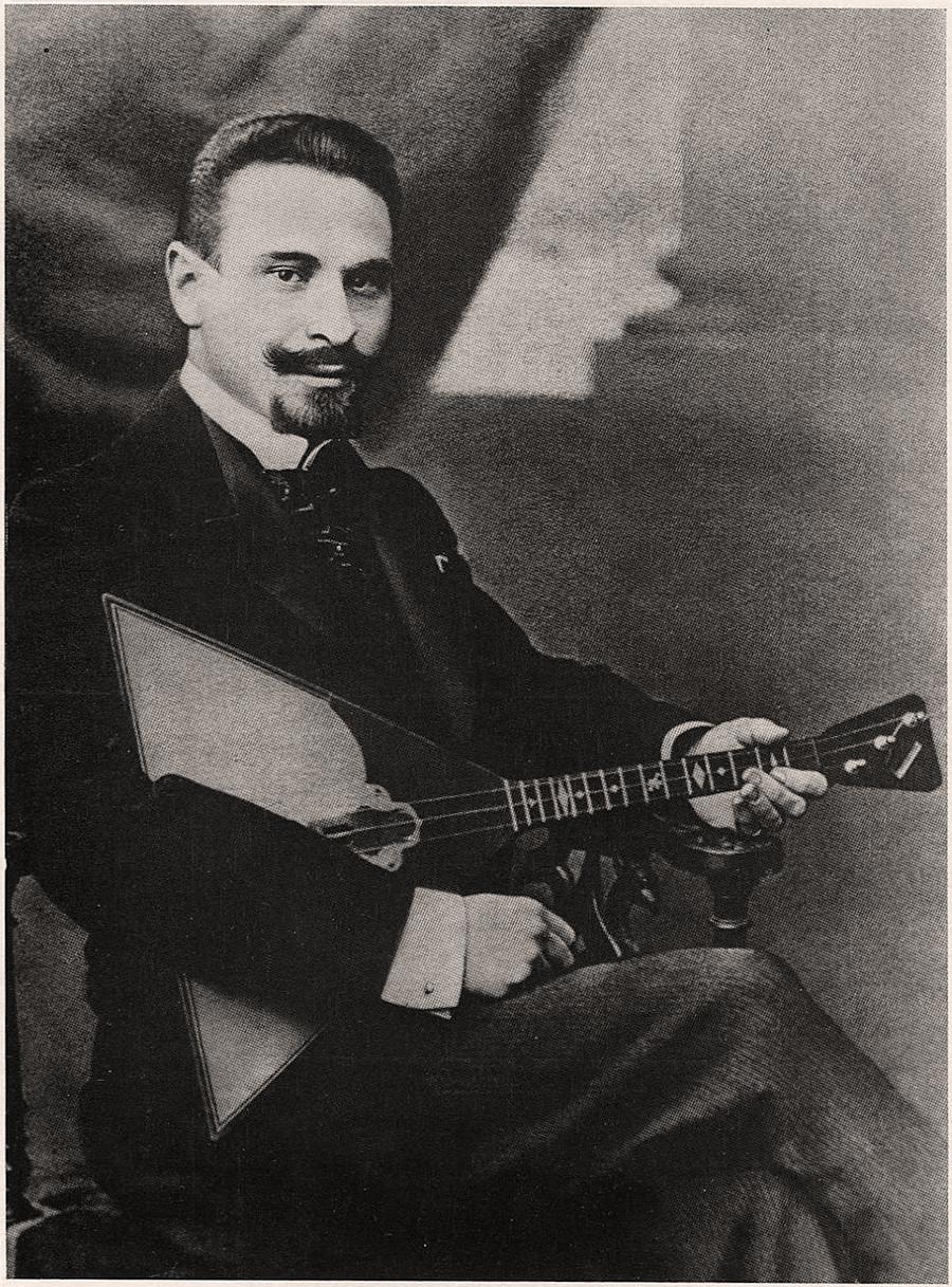 Vasili Andreev, the 1880s.