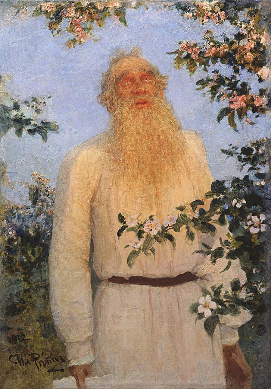Portrait de Léon Tolstoï, 1912