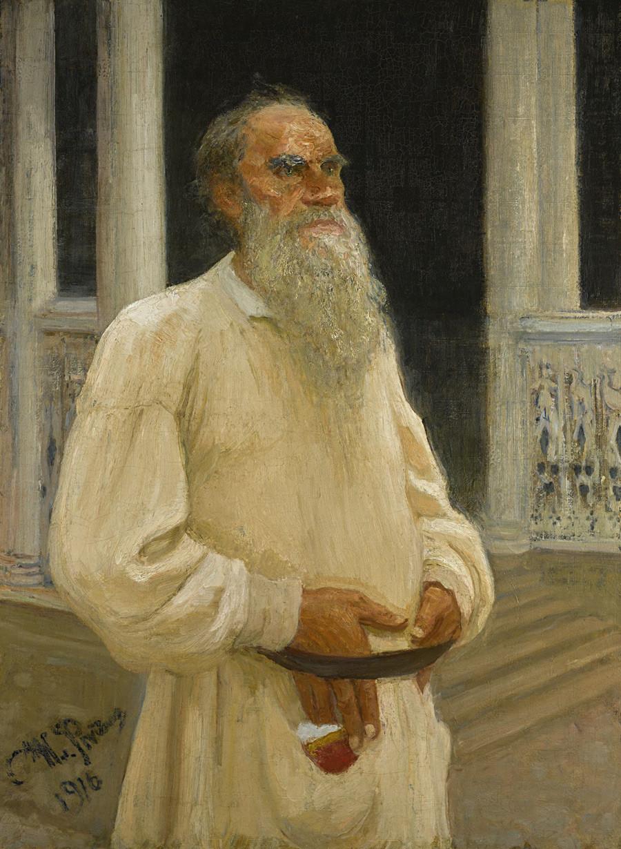 Portrait de Léon Tolstoï, 1916