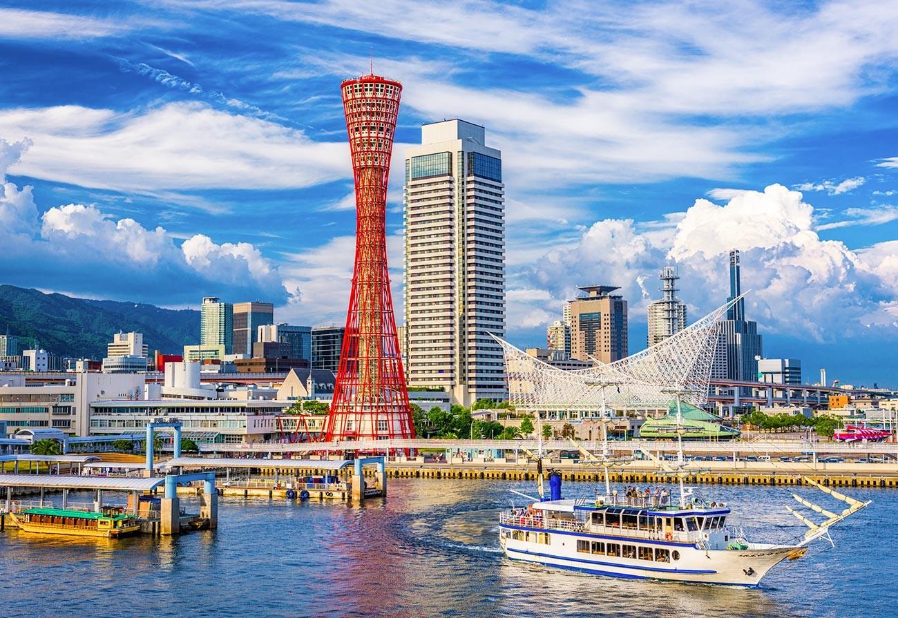 La torre del Porto di Kobe