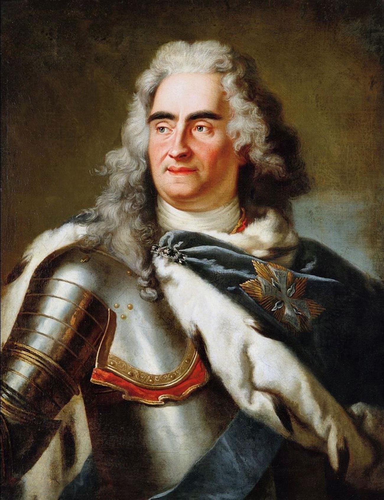 Август II Сильный.
