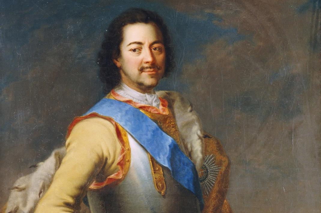 Император Петр I.