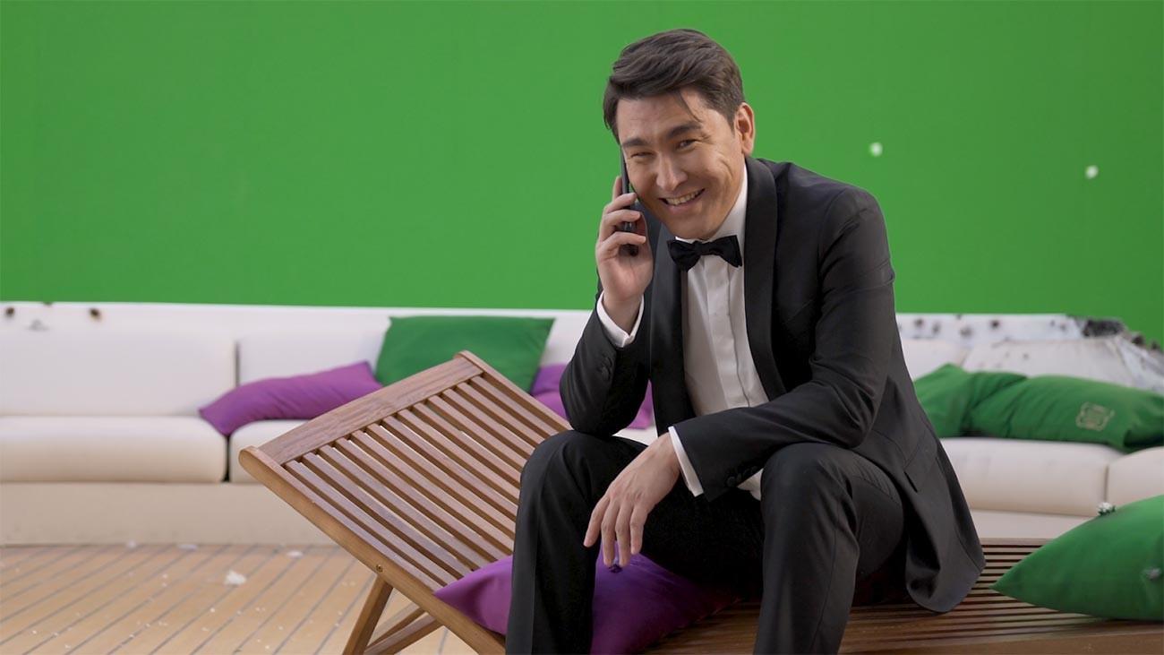 Komedian dan pembawa acara TV Rusia Azamat Musagaliyev