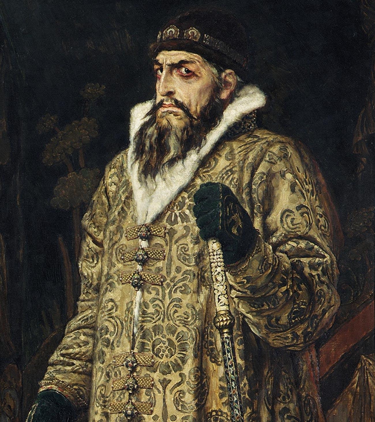 Potret Ivan IV yang Mengerikan oleh Viktor Vasnetsov, 1897