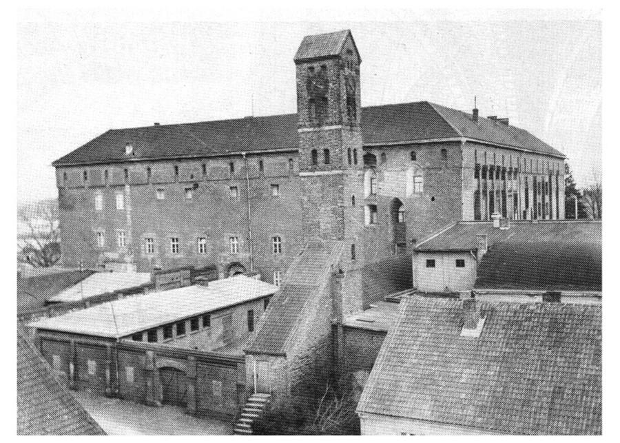 Рагнитский замък през 1939 г.