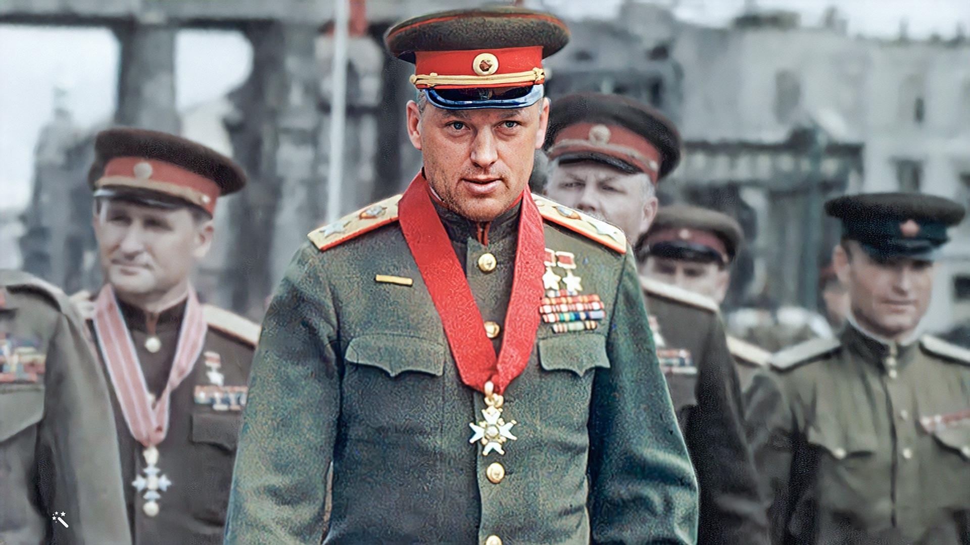 Il Maresciallo dell'Unione Sovietica Konstantin Rokossovskij (1896-1968)