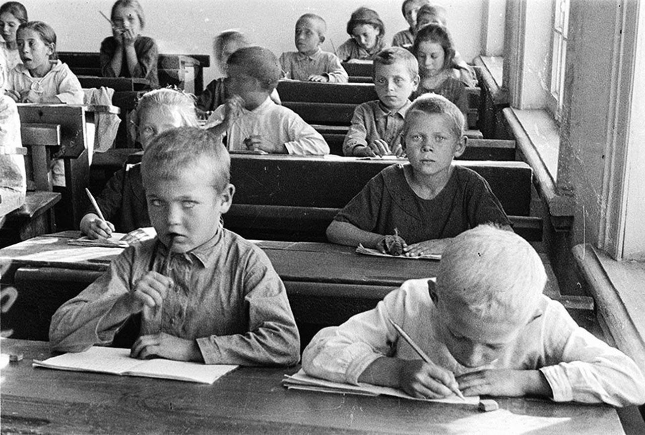 Kinder der Wolgadeutschen