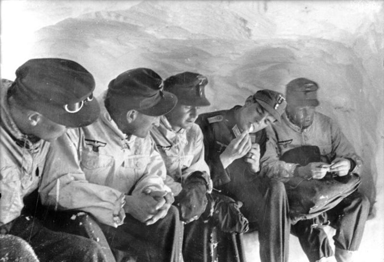 Егеря горнострелкового корпуса «Норвегия».