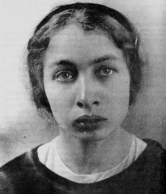 Fanni Kaplán en 1890.