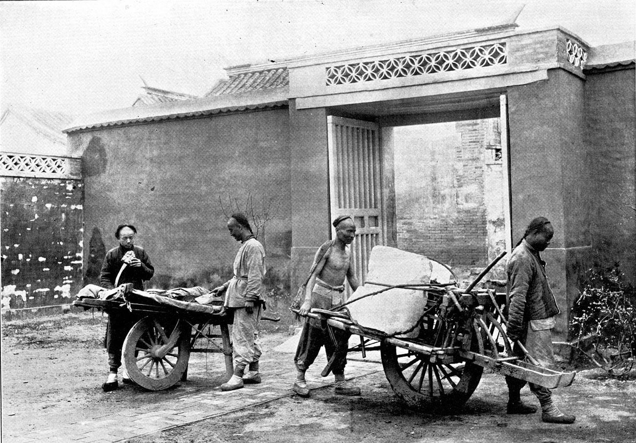 Foto aus Peking.