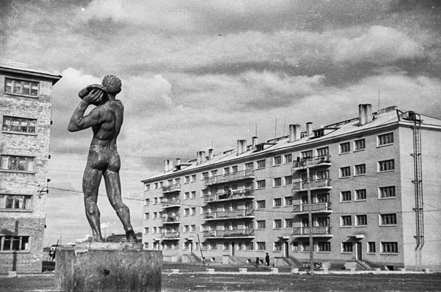 Die sozialistische Stadt.