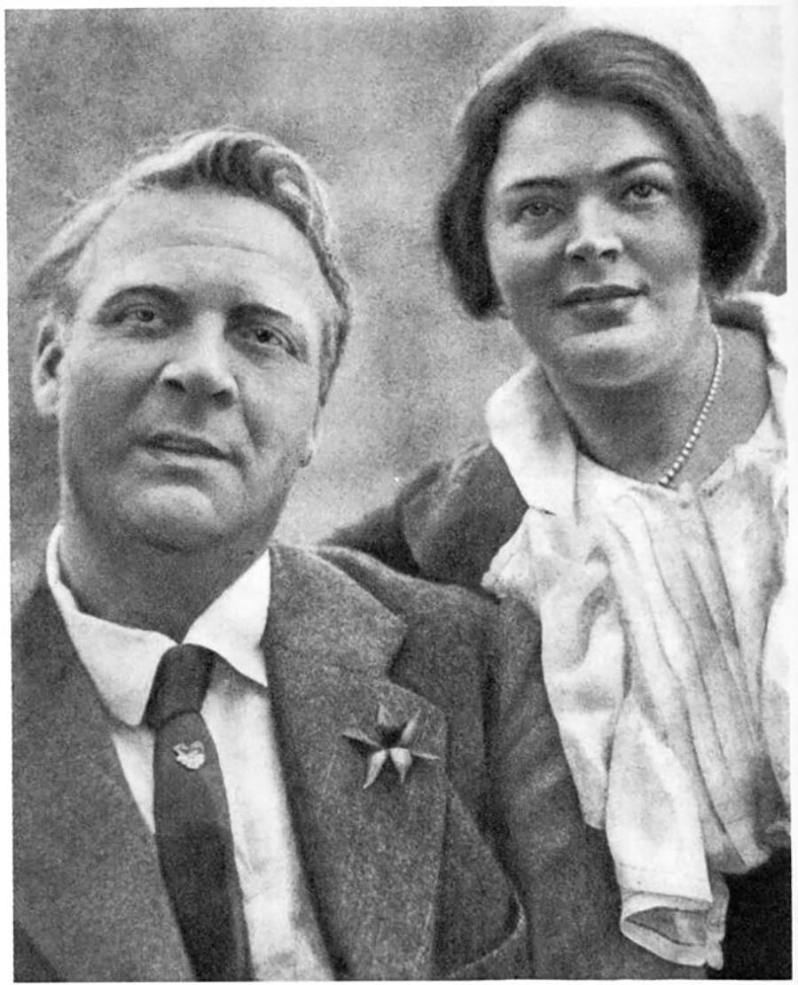 フョードル・シャリャピンとマリヤ・ペトツォルド