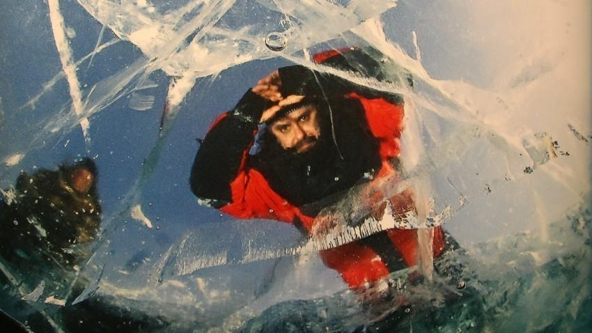 Zamrznjeno Bajkalsko jezero