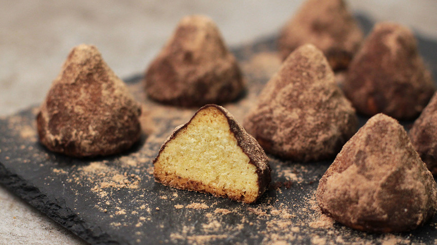 Go ahead and try to make these tender dome-shaped cookies.