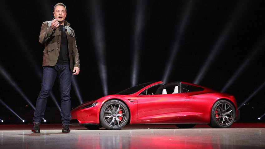 Tesla Motors 2020 Roadster, САЩ, 2017.