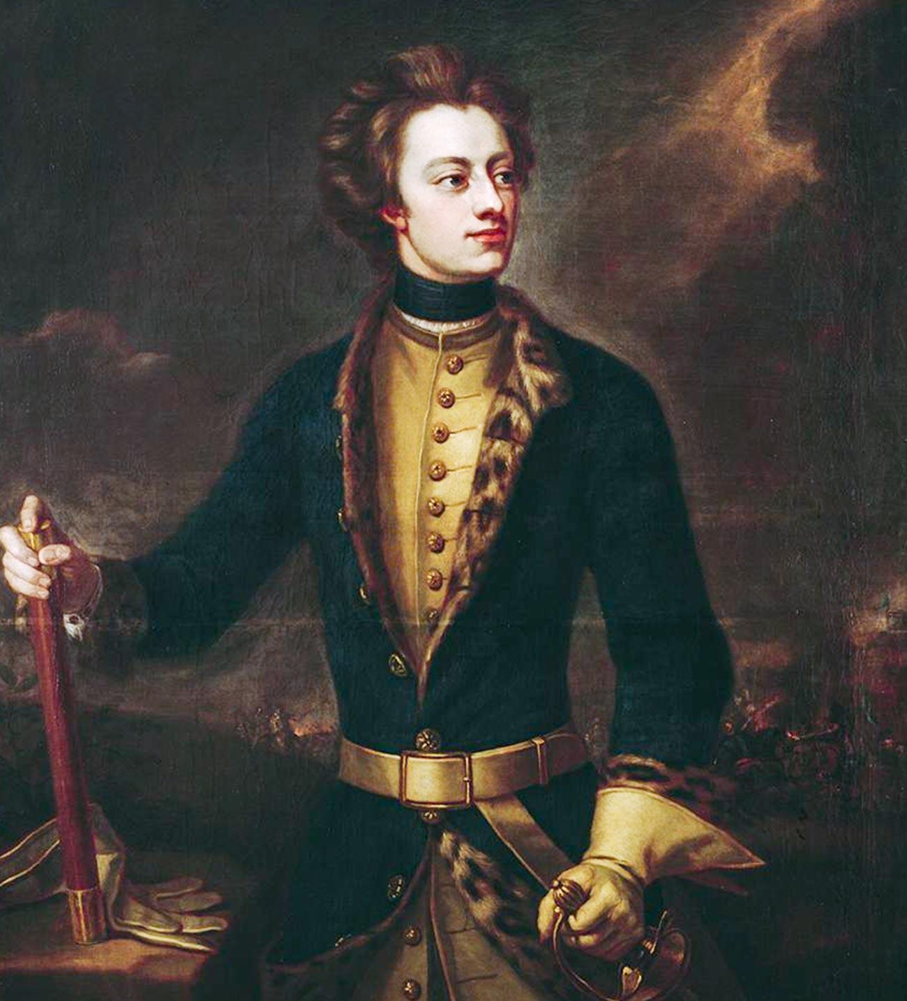König Karl XII. von Schweden (1682-1718).