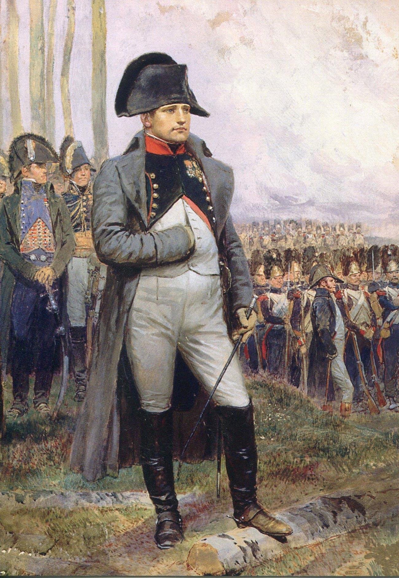 'Napoleon' karya Jean-Baptiste douard Detaille.