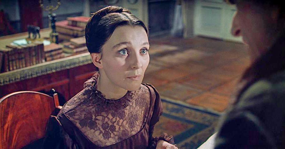 Actress Antonina Shuranova as Maria Bolkonsky.