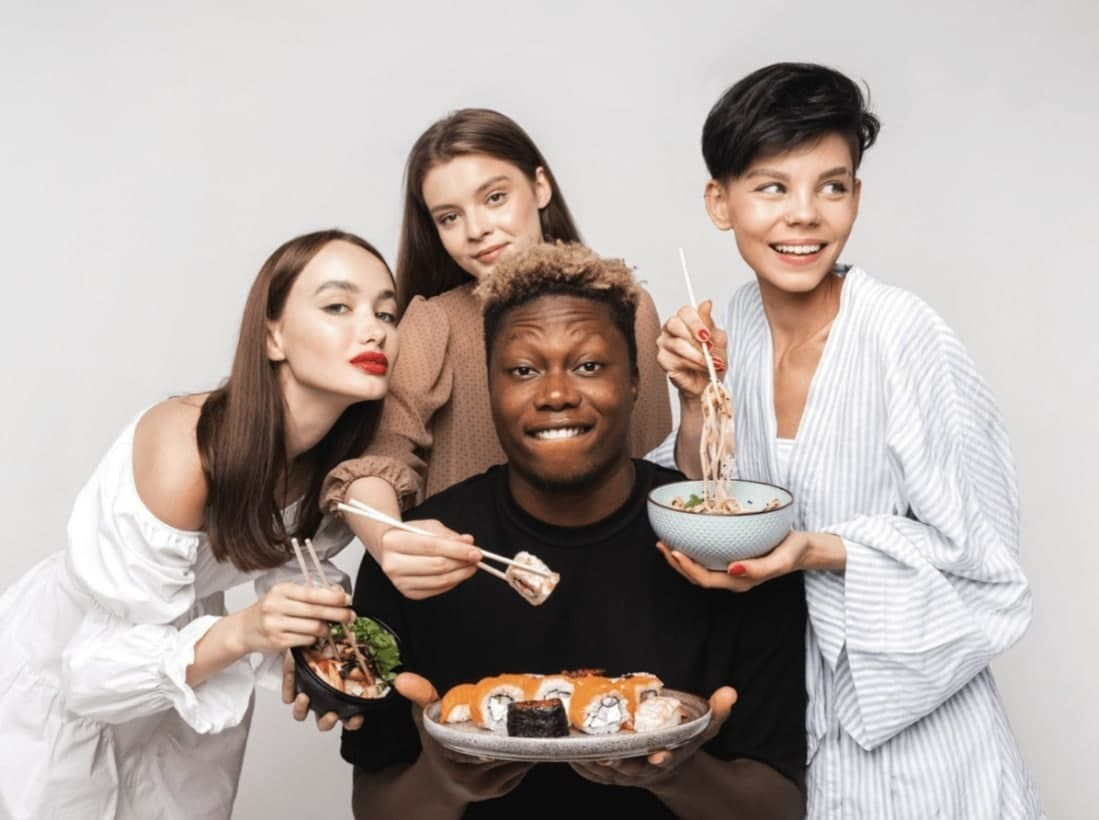 Russian restaurants are harassed for ads featuring black models