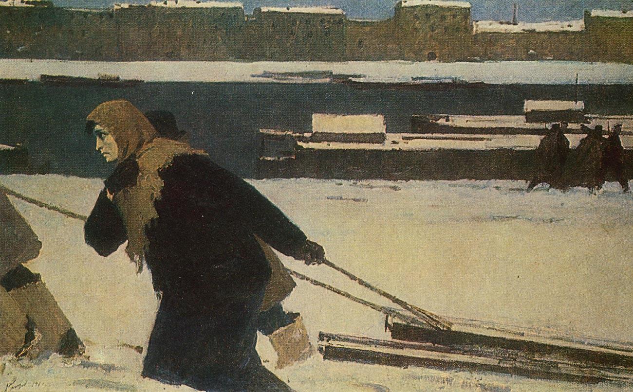 Leningrad citizen (in 1941).