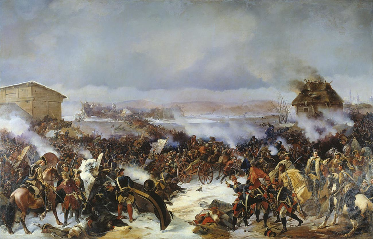 The Battle of Narva.
