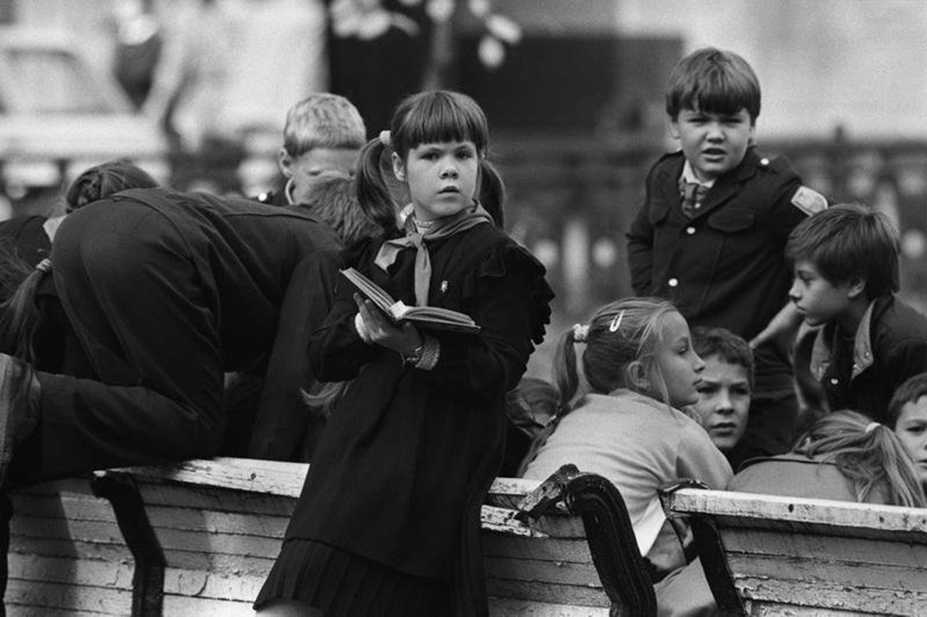 Récréation à l'école, 1990