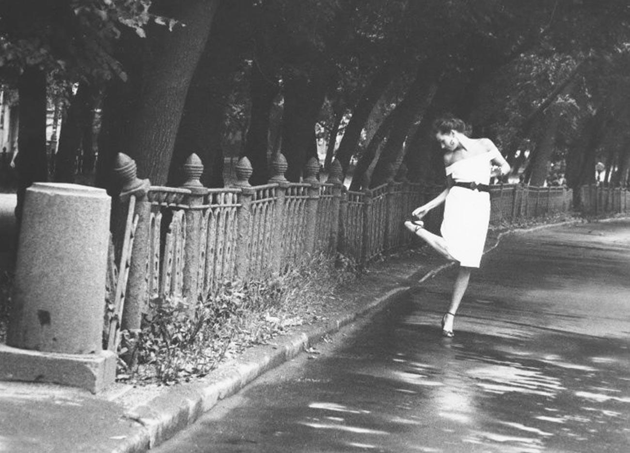 Boulevard Strastnoï, 1991
