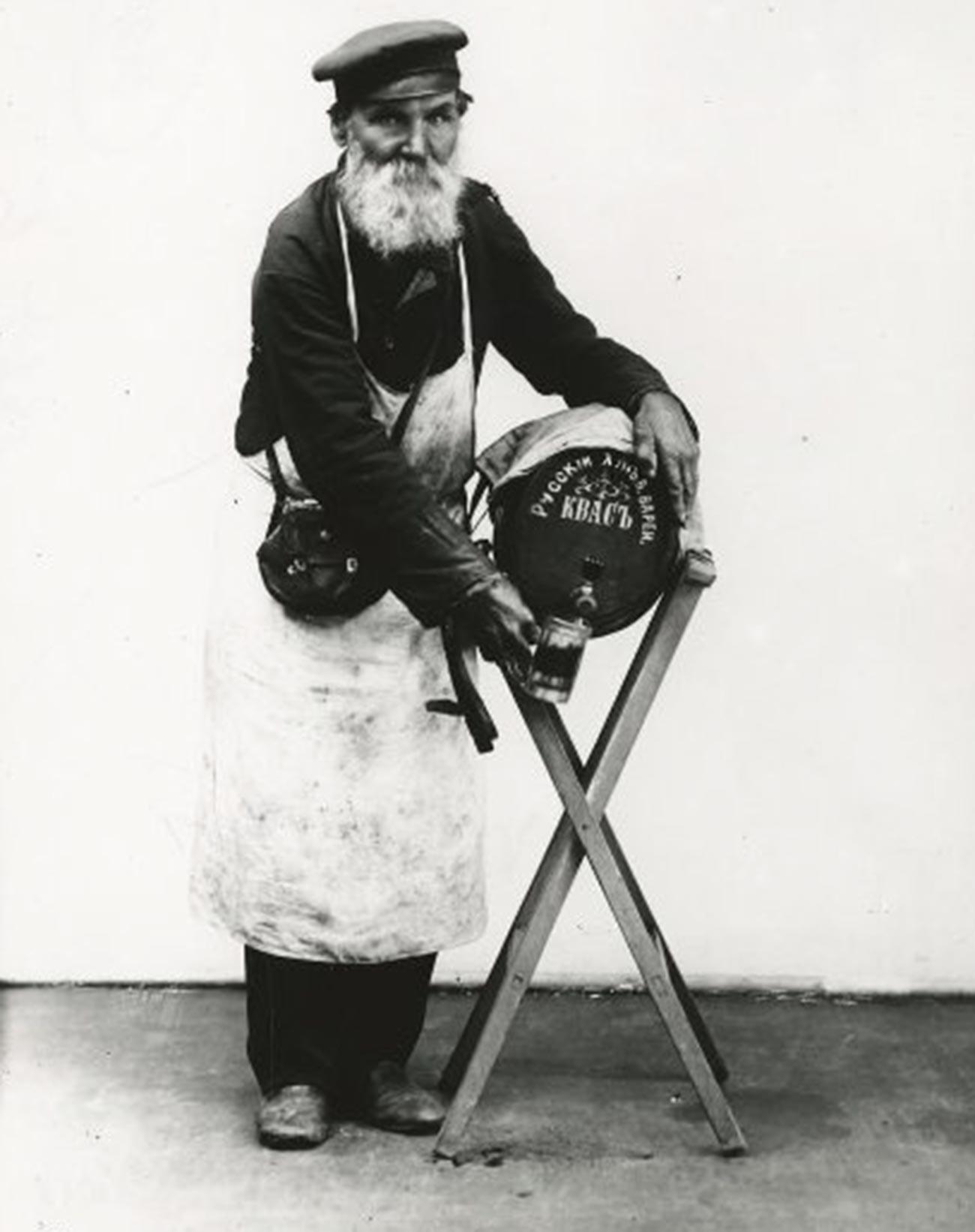 Vendedor de kvass.