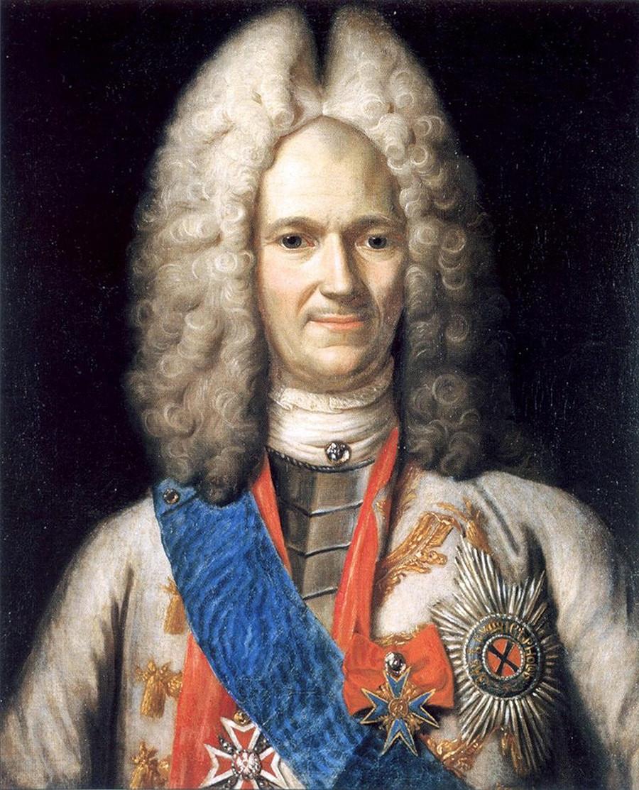 Aleksandsr Menshikov, sekitar 1716—1720.