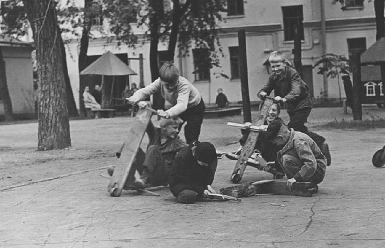 バイカーたち、1950年代
