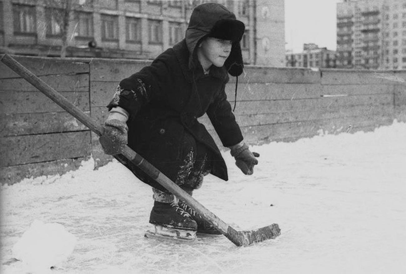 ゴールを守る、1962年